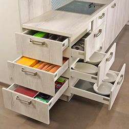Neuheiten im bereich kuchengerate designer kuchengerate for Küchen schubladenschrank